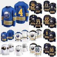 2021 New Buffalo Sabres Hockey Jersey 22 Jack Quinn 4 Taylor Hall 16 Tobias Rieder 20 Cody Eakin 21 Brandon Davidson 29Steven Fogarty Gewohnheit