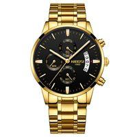 Freies Verschiffen Orologio Masculino Männer Uhren Berühmte Top Marke Männer Mode Casual Dress Watch Nibossi Militär Quarz Armbanduhren Saat