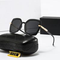 الأزياء اللؤلؤ مصمم نظارات عالية الجودة ماركة الاستقطاب عدسة نظارات الشمس نظارات للنساء النظارات إطار معدني 5 اللون 1125