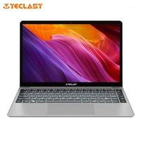 Dizüstü Bilgisayarlar Teclast F7 Artı Laptop 14.1 Inç 8 GB 256 GB SSD Intel Celeron N4100 Windows 10 1920 * 1080 Wifi Dar Bezel Arkadan Aydınlatmalı Dizüstü1