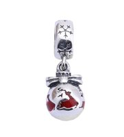 Panjewelry S925 Sterling Silver Christmas Gift deer Charm Ch...