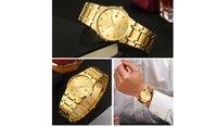 Regarder des montres de quartz de luxe de luxe pour hommes occasionnels acier inoxydable Auto Date Montrewatch Relogio Masculino