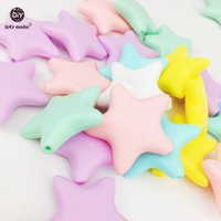 Let' s Make 20pcs Silicone Star Candy Color Food Grade S...