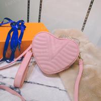 مصغرة أزياء desinger الوردي القلب شكل حقيبة العجل جلد النساء قماش تنقش crossbody مساء حقيبة الكتف حقيبة محفظة