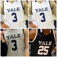 Yale College Basketball Jersey personalizado 00 Jalen Gabbidon 1 Eze Dike 2 Eric Monroe 5 Azar Swain Homens Mulheres Juventude costurado