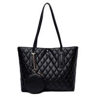 HBP Smooza الفاخرة المرأة حقيبة الكتف سعة كبيرة حمل بو السيدات الفاخرة عالية الجودة حقيبة يد الإناث حقيبة عارضة حقيبة يد