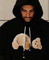2021 Новые мужские женские дизайнеры толстовки мода капюшон мужчина с длинным рукавом медведь толстовка одежда свитера хип-хоп одежда для одежды 21ss