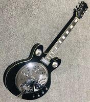 Acepta al por mayor de instrumentos musicales de guitarra eléctrica personalizada
