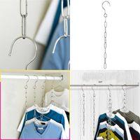 الفولاذ المقاوم للصدأ معطف الملابس شماعات سلسلة خزانة متعددة الوظائف شنقا سلاسل شائنة جودة عالية وغير مكلفة بيع جيدا 1 6KW J1