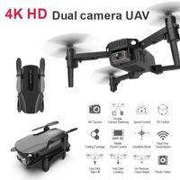 R16 Drone New 4k HD Dual Lens Мини Дрон Wi-Fi 1080P Real-Time Трансмиссия FPV 2.4G 4CHDRONE Следуйте мне Складной RCQuadcopter Toy1