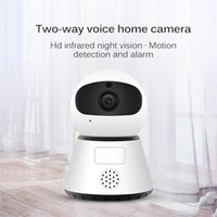 1080P Wireless Mini Indoor Wireless Security-Kamera-1080P WiFi IP-Home-Monitoring-System mit Menschen Tracking-Zwei-Wege-Audio