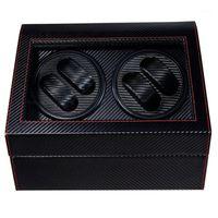 Custodie per box per orologio 4 + 6 Automatico Automatico Automatico BoxWatches Storage Jewelry Jewelry Display PU in pelle Box Ultra Tranquille Shaker Box1