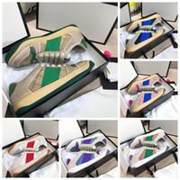 2021 Оптовый дизайнер Высочай Качество Обувь Scester Мужчины Спортивные Обувь Туз Зеленая красная полоса повседневная обувь для женщин