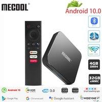 Mecool KM9는 ATV 4G 32G 안드로이드 10.0 TV 박스 Google 인증 Amlogic S905X2 2.4G / 5G 와이파이 Androidtv 10.0 스마트 TV 박스 PRO