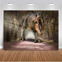 Hintergrund Material Pografie Hintergrund Dinosaurier Thema Party Pographische Studio PO Geburtstag Dekoration Pocall1