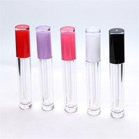 5ml ABS Lip Gloss Tube en plastique rouge à lèvres Rechargeables Baume à lèvres bouteille bricolage cosmétique Emballage Bouteille Conteneur de stockage OWE1143
