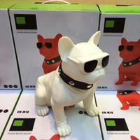 무선 개 4.0 블루투스 스피커 Hifi 서브 우퍼 미니 휴대용 오디오 스피커 6 색 야외 사운드 소매 상자 TF 카드 MP3 플레이어