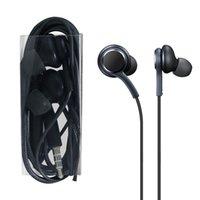 Para Samsung Galaxy S8 auriculares estéreo auriculares auriculares auriculares de alta calidad con auriculares con cable en la oreja S10 Auriculares Auriculares Mic