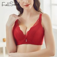 Carsweet Sexy pizzo reggiseni per le donne Comfort No Wire Bra A B C CUPS Push up Brassiere1