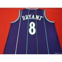 Mamba OUT K B Mor Yeşil Otantik Nakış Basketbol Vintage Kolej Forması Boyut S-XXL veya Özel Herhangi Bir Ad veya Numarası Forması