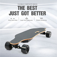 STOCK IN USA 4 Räder Günstige Longboard elektrisches Skateboard mit 90mm Rad 40km / h Sports Scooter W34807114