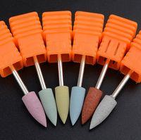 1PCS Nail Drill Bits taglierina della cuticola del silicone fiamma lucidatura Ruota Clean Tool per Electric Accessori Nail Drill