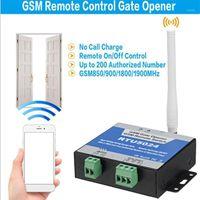 RTU5024 GSM بوابة فتاحة التتابع التبديل التحكم عن بعد التحكم في الوصول إلى الباب اللاسلكي من قبل SIM Calling1 المجانية 1