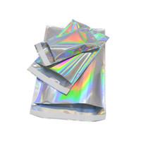 Laser bollettini Borse Arcobaleno Auto Smell Pacchetti Proof busta per il telefono Accessori Custodia regalo di Natale espresso bagagli Bubble imballaggio