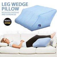Cuscino gonfiabile cuscino cuscino a riposo portatile ginocchio a cuneo supporto per il supporto del piede ortopedico alleviare il dolore LJ200821