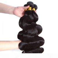 Paquetes de pelo de onda corporal Paquetes de tejido para el cabello brasileño Human Virgin Hair Bundle Extension 1 3 4pcs