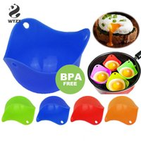 Silicone Egg Poacher Cook Poach Pods Kitchen Tool Baking Poached Cup Egg Kitchen Cooking Tools