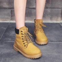 Okkdey Microfiber Winter Work Sapatos de Segurança Sapatos de Borracha Mulheres Ao Ar Livre Botas de Botas Sapatos Mulher Equitação Motocicleta Neve Boots1