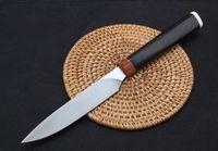 Бытовая 4.5inch прямой фиксированный нож тактический самозащитой EDC коллекторских нож охотничьи ножи подарок Xmas a2044