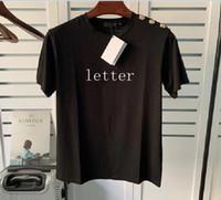 Moda Erkek T Shirt erkek Mektup Baskı Tees Tasarımcısı Tişörtleri Bayan Kaykay Kısa Kollu Rahat Tişörtleri