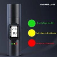 Alkoholismus test Q91 Digital Alkohol Tester Atemtester, Mini weht Auto Betrunkene Fahren USB-Laden