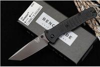 Benchmade 537 Bugout Osborne Katlama Bıçak v3 bıçak G10 kolu açık kamp EDC aracı 940 535 530 580 3300 kelebek bıçak