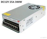 5050 3528 5630 LED RGB Şerit ışık için, AC 110V 220V için DC 12V 300W 25A Güç Kaynağı Şarj Trafo Adaptörü Sürücüsü