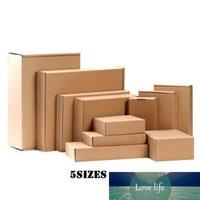 grande boîte d'affichage d'emballage de bijoux en papier de couleur boîte d'emballage faveur de bonbons boîte cadeau oreiller noir 100pcs par lot