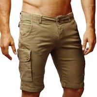 Randonnée pour hommes Camping Camping Tanton Shorts extérieurs Style tactique Combinaison Bouton multi-poche Randonnee Dropship # 05071