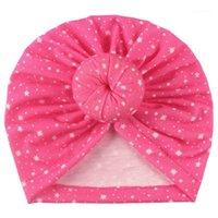Unisex Newborn Baby Boy Girl Print Beanie Baby Sun Hat Fashion Turban Photo Russies Младенческие Девушки Мальчик Детские Шляпы Cap Summer1