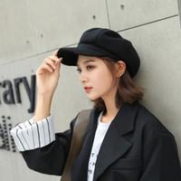 여자 모자 모자를위한 인기있는 럭셔리 디자이너 Berets 코튼 캐스 케 켓 여성 야외 자수 Avant-Garde 힙합 팔각형 야구 아빠 모자
