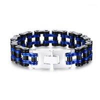 Persönlichkeit Design Armband für männliche Fahrradarmband Titan Stahl Männer Motorrad Kette Tide Herrenschmuck Beliebt