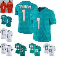 2020 21 NEW 1 TUA TAGOVAILOA Мужские Женщины Детский Молодежный футбол Джерси 13 Дэн Марино Трикотажные изделия