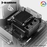 Barrow POM Material Wasserpumpe + CPU Block Combo Verwendung für Intel LGA1150 1151 1155 1156 Sockel Wasserkühler Kühlung1