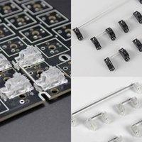 Tastiere Vite PCB placcato oro nello stabilizzatore per tastiera meccanica personalizzata GH60 6.25 2U