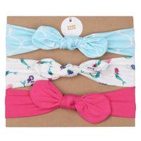 Bowknots einhorn baby head bands 3 teile / set kits haarband set haare bogen elastische anzug headwear haarschmuck kindheit kinder mädchen 9 9mq c2