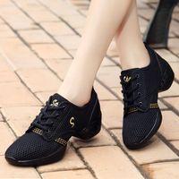 Mulheres Sapatilhas Moda Esporte Sapatos Jazz Dancing Treinamento Sapatos Indoor Atividades Tamanho Grande Ginásio Respirável Sneakers Mais Novos