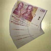 Accessoires 50 meilleurs jouets britanniques accessoires P20 jouets LUMGS Money Bar Play Banknotes Pound Pound Pound Bills Car WQMWG