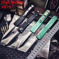 Especial Offe Microtech Ultratech do caçador de prémios facas automáticas UT85 UTX85 ferramenta UTX70 VG10 Lâmina de Halo V Outdoor Camping Facas EDC