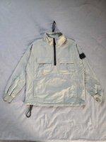 저렴한 뜨거운 판매 3 색 19FW 117wn Smock Old Garment Dye Topstoney 스테인드 의류 작업복 크기 : S-3XL